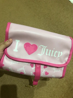 Used Juicy couture make up travel pouch in Dubai, UAE