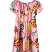 Brand new d&g inspired dress , pineapple print