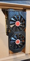 Used XFX RX580 8gb graphic card black edition in Dubai, UAE