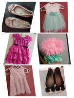 Used Baby dress and shoes in Dubai, UAE