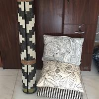 Used Rug Ikea 3pillows All Together As Set Clean And Barely Used in Dubai, UAE