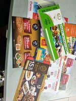 Used Bundle of coupons in Dubai, UAE