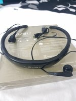 Used Black earphone level u in Dubai, UAE