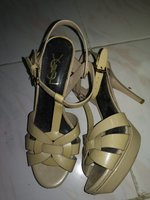 Used Pre-Owned Original YSL Sandals Sz 40 in Dubai, UAE