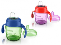 Used Avent Easy Sip Spout cups in Dubai, UAE