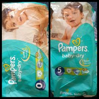 Used Pamper dry baby size 5 (56 pieces ) in Dubai, UAE