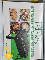 Used BBQ grill stand portable easy to carry in Dubai, UAE