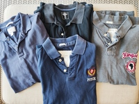 Used Bundle of Men's Polos Shirt size L in Dubai, UAE