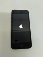 Used iPhone 5 black *  only logo appearing* in Dubai, UAE