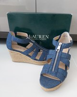 Used New Ralph Lauren wedges in Dubai, UAE