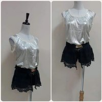 Used New shiny golden top with Short. in Dubai, UAE