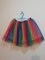 Used Rainbow tutu skirt and top 4-5 yrs(1pc) in Dubai, UAE