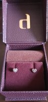 Used Diamond Earrings, 18K in Dubai, UAE