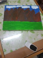 Used Mountain  painting in Dubai, UAE