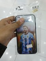 Used IPhone X cover Messi photo in Dubai, UAE