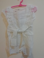 Used Baby girl's cotton Romper (1pc) in Dubai, UAE