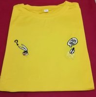 Used Yellow designs Men  T-shirt in Dubai, UAE