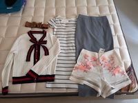 Used Bundle 4 clothing pieces size XS to S in Dubai, UAE