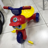 New Folding Tricycle Red Color