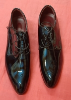 Used 45 size, boots for him, blue in Dubai, UAE