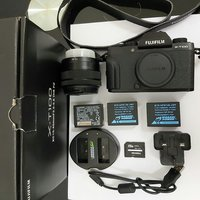 Used Fujifilm XT100&Kit, SD Card, Battery in Dubai, UAE