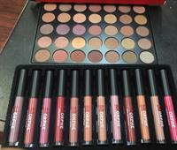 Morphe Set Eyeshadow And 12lipgloss In One Price