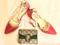 Used Combo Offer- Heels + Wallet in Dubai, UAE