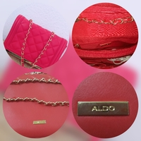 Used Aldo red bag in Dubai, UAE