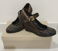 Used Authentic Fendi wedge shoes in Dubai, UAE