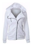 Used White Shirt Neck Hoodie & Sweatshirt in Dubai, UAE