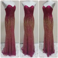 Used Fabulous chob dress elegant Long Dress in Dubai, UAE
