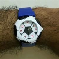 3D Football style sport wrist watch
