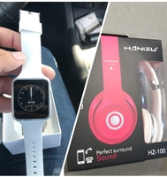 Bundle Offer ~ HD Smart Watch + Headset