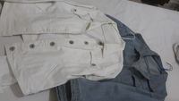 Used 2 Jean's Jackets for ladies in Dubai, UAE