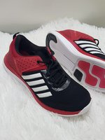 Used New style shoes red best 42 size in Dubai, UAE