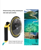 "Used Telesin 6"" Dome Port water photography in Dubai, UAE"