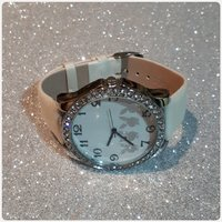 White casual watch for girl
