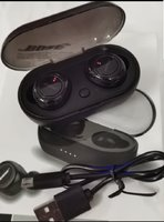 Used Earbuds bose black higher sound.. in Dubai, UAE