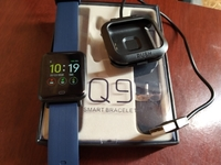 Used Q9 Smart Watch▪2 Straps▪HighQuality ▪New in Dubai, UAE