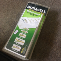 Duracell rechargeable battery charger