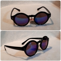 Used New Black Round Sungglass for Her in Dubai, UAE