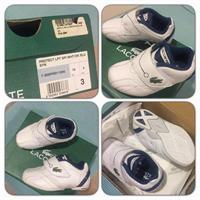 Lacoste Rubber shoes For Baby #unisex#1-3yrsold#usedonce#mintconditiob