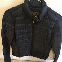 Used Michael Kors Black Jacket. Size Small. New Without Tags. Never Worn. Gold in Dubai, UAE