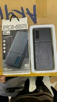 Used 10000 mah power bank with led black in Dubai, UAE