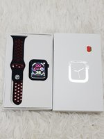Used W5 red smart watch details in pictures in Dubai, UAE