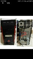 Used Old PC case + 2 RAMS + keyboard in Dubai, UAE