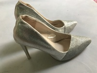 Used Silver pin  high heels in Dubai, UAE