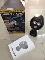 Used WATERPROOF SENSOR LIGHT NEW NIGHT HAWK in Dubai, UAE