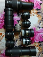 Used Nikon & Canon Prime & Zoom lens  for sel in Dubai, UAE