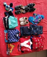 Used Bundle of pablosky shoe and clothes in Dubai, UAE